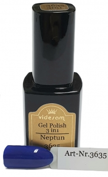 3 in 1 Gel Polish  3635 Neptun