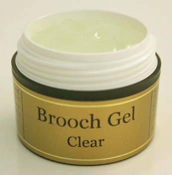Brooch Gel Clear