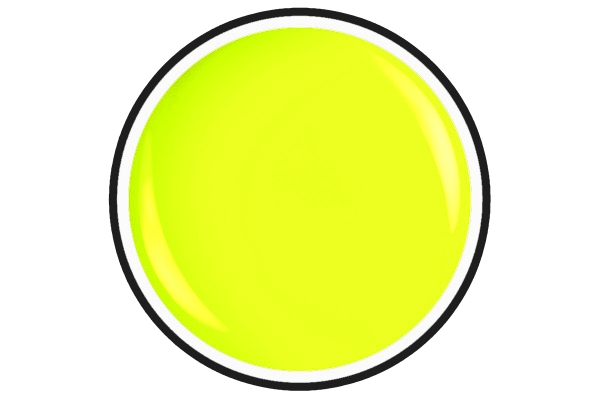 Painting Colour Gel Nr.7  Neon Yellow 5ml